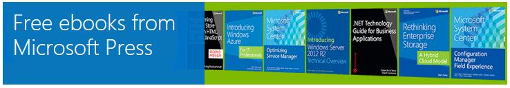 Besplatne knjige na Microsoftsajtu